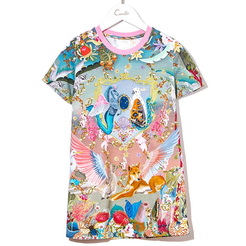 Let's Take A Trip Infants Tshirt Dress