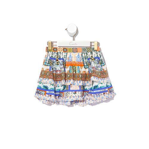 Infants Double Layer Frill Skirt