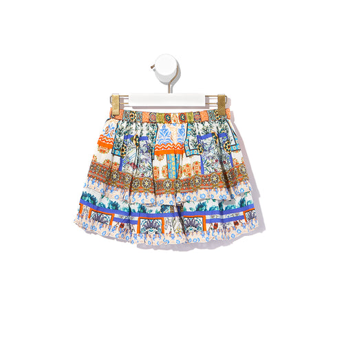 Kids Double Layer Frill Skirt