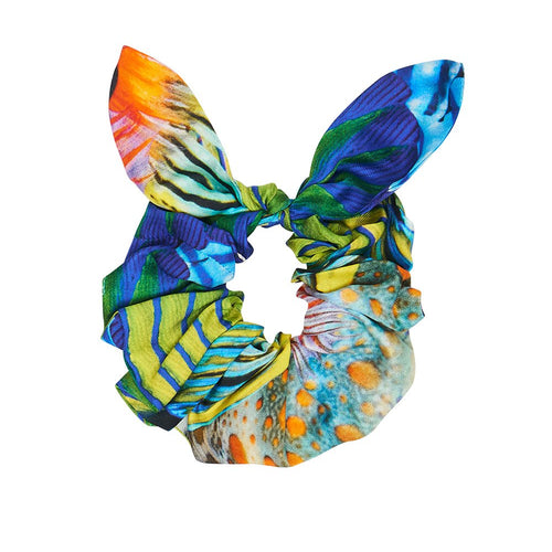 Reef Warrior Scrunchie