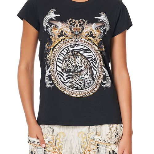 Gates of Glory Slim Fit Round Neck T-Shirt