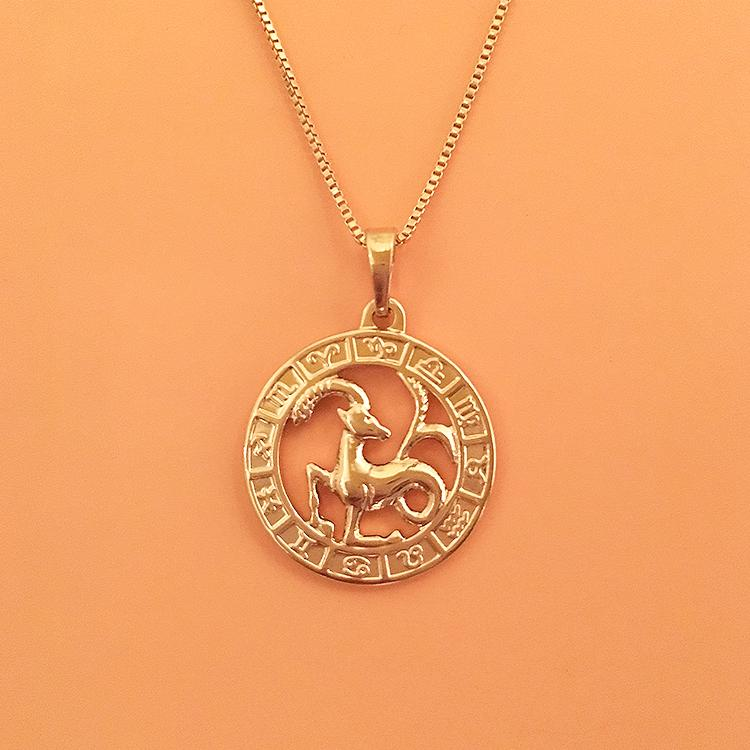 Cosmic Pendant Gold
