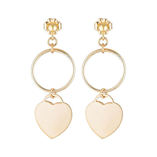 The Amour Gold Earrings