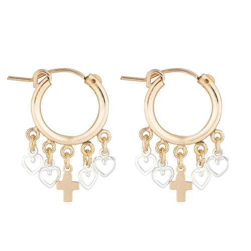 Zeus Coeur Earrings