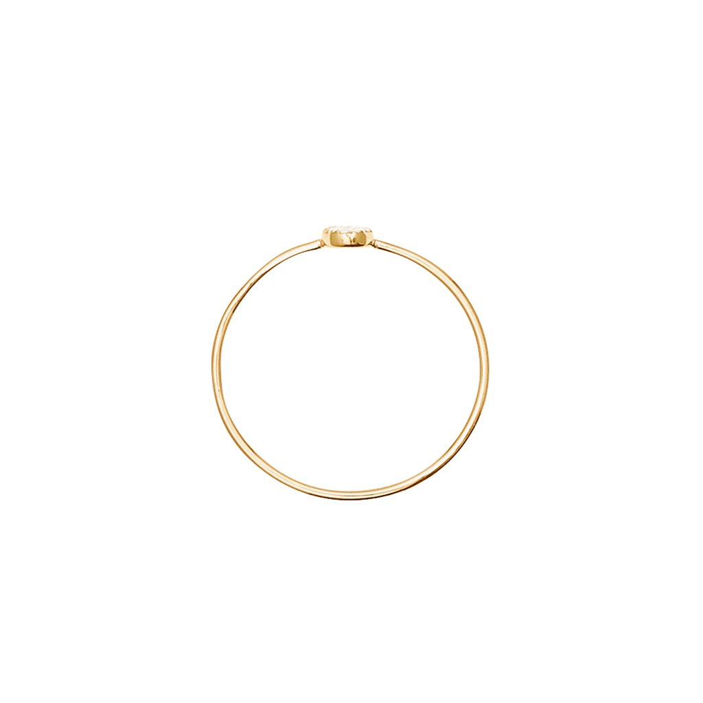 14k Gold Morning Light Ring