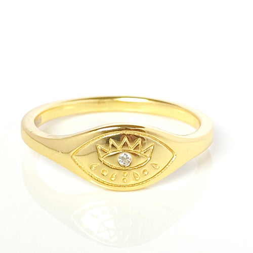 Bowie Ring Gold