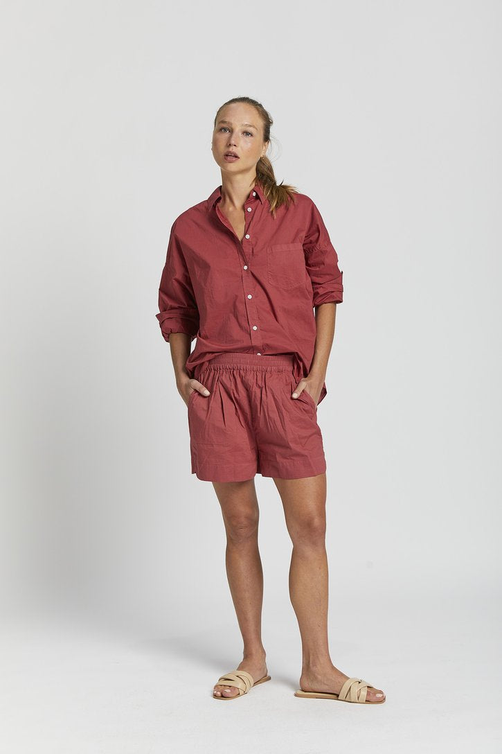 Chiara Short Cherry
