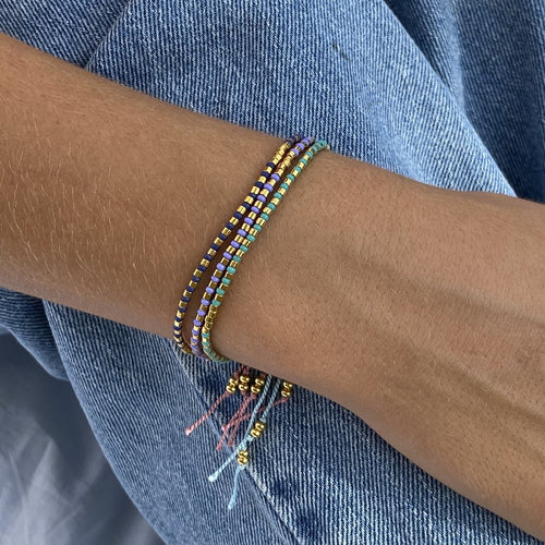 Love-Ender Bracelet - Matte Denim