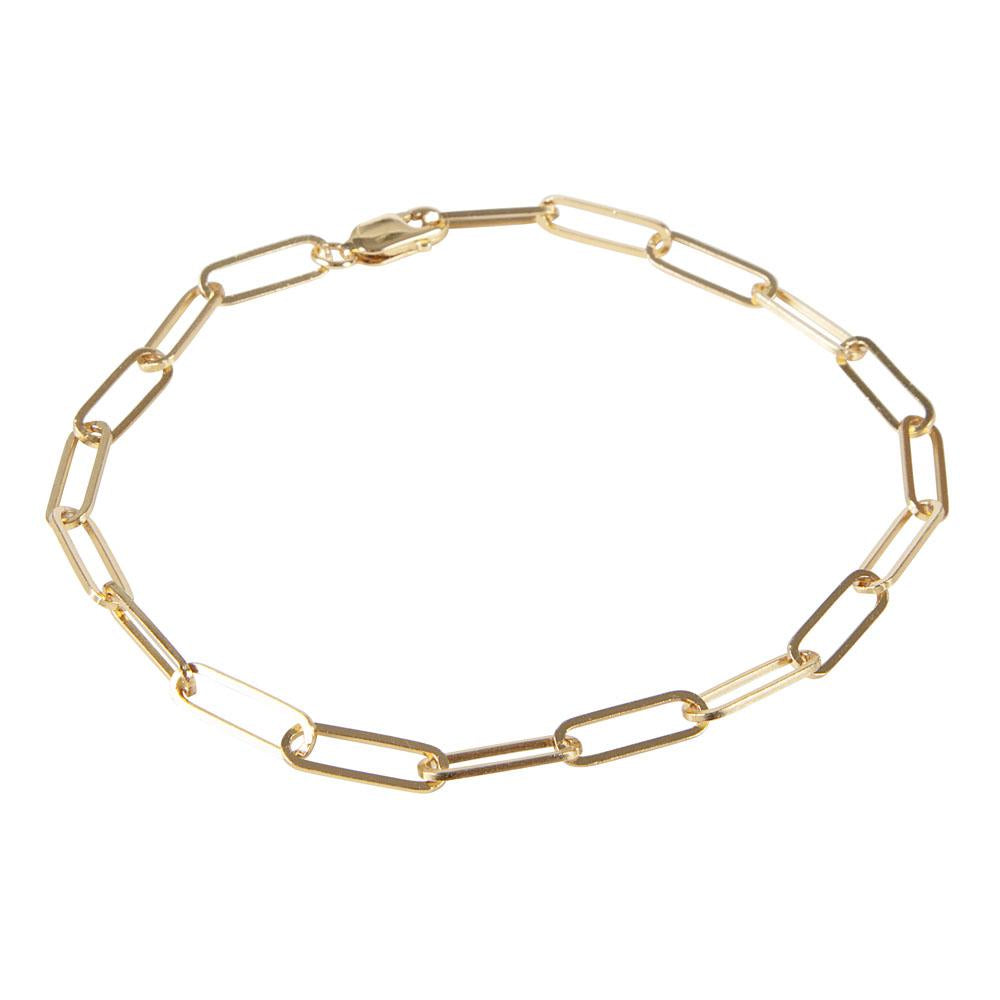 Classic Link Chain Bracelet Gold