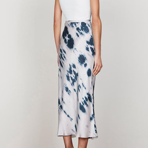 Palmar Bias Midi Skirt