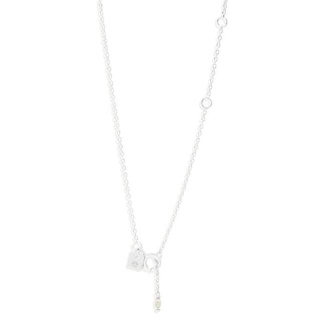Silver Heavenly Moonlight Necklace