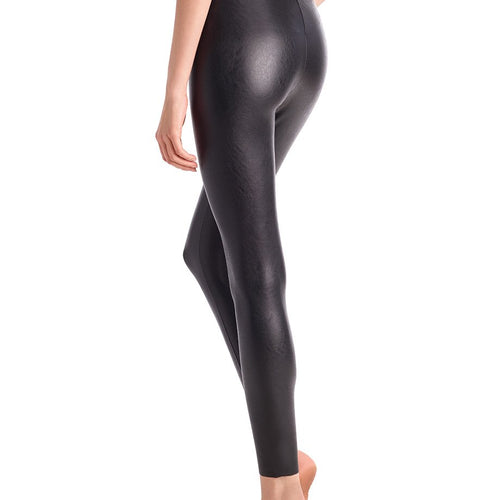 Faux Leather Legging with Perfect Control