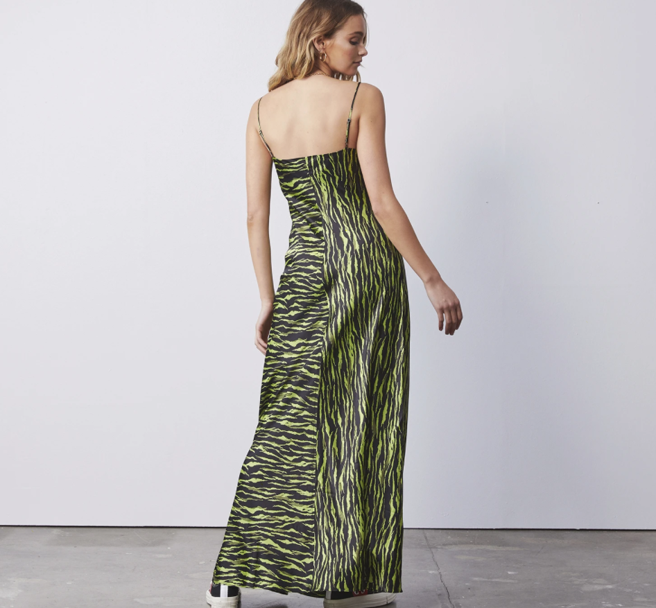 Clare Slip Long Dress