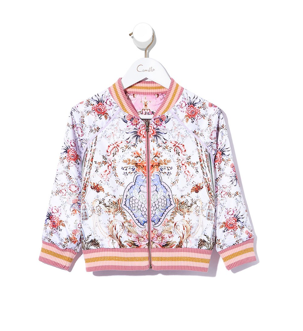 La Belle Kids' Reversible Bomber Jacket