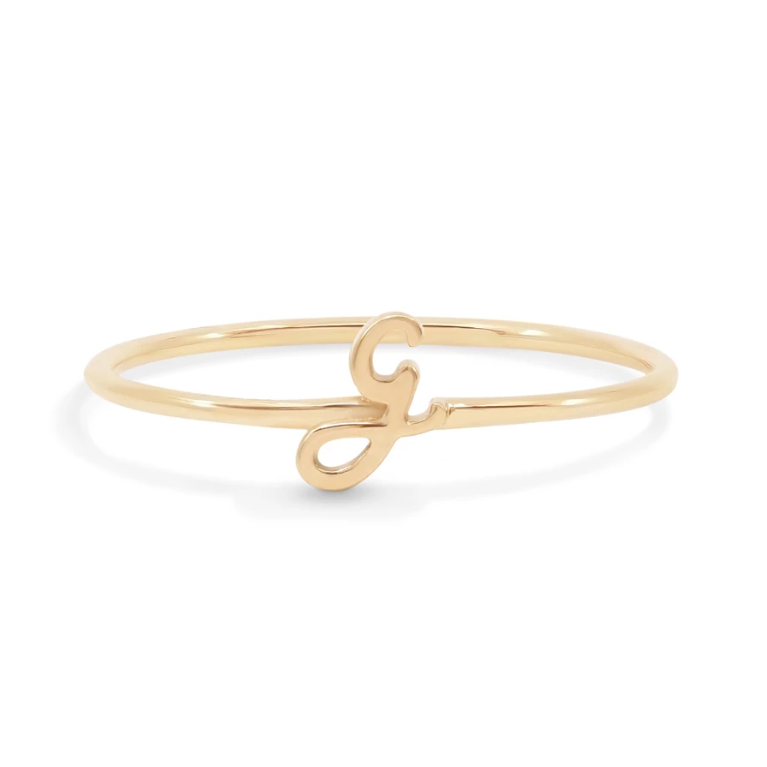 Gold Love Letter Ring