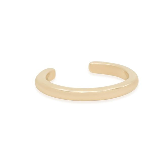 14K Gold Single Twilight Ear Cuff