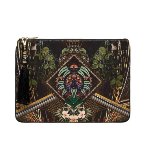 Botanical Chronicles Small Canvas Clutch