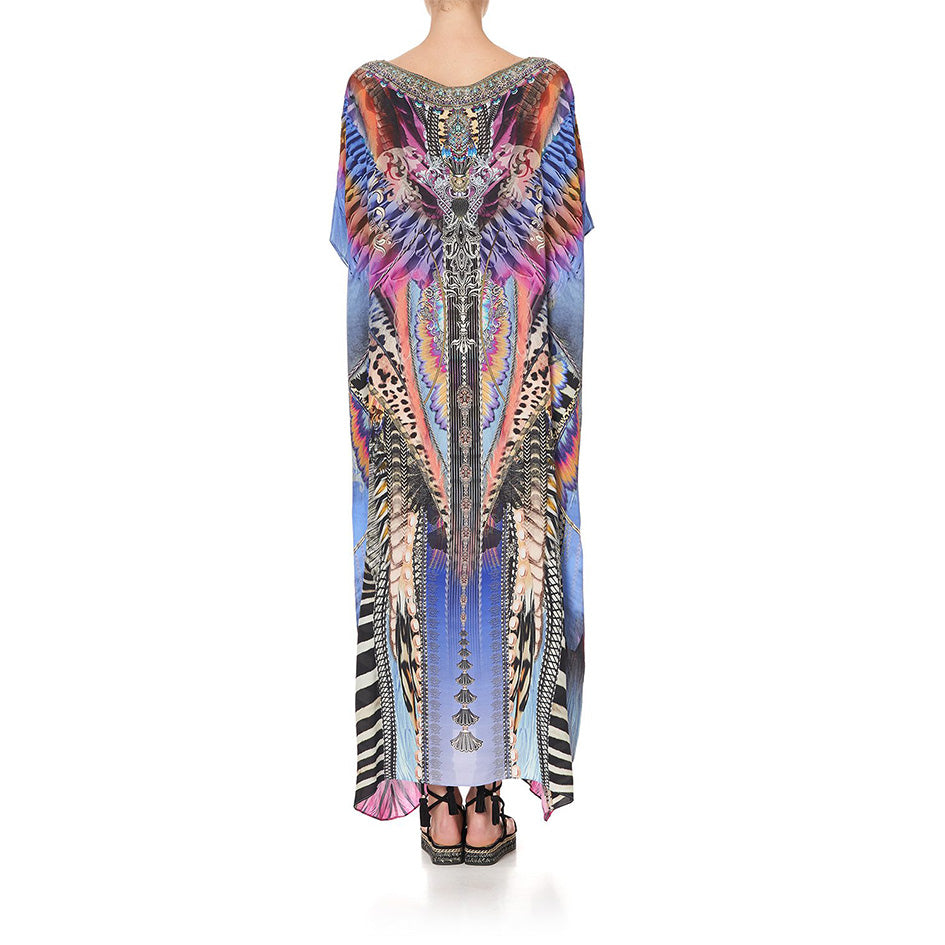 Love On The Wing Round Neck Kaftan