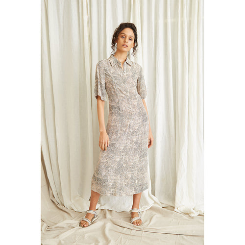Intrepid Maxi Shirt Dress
