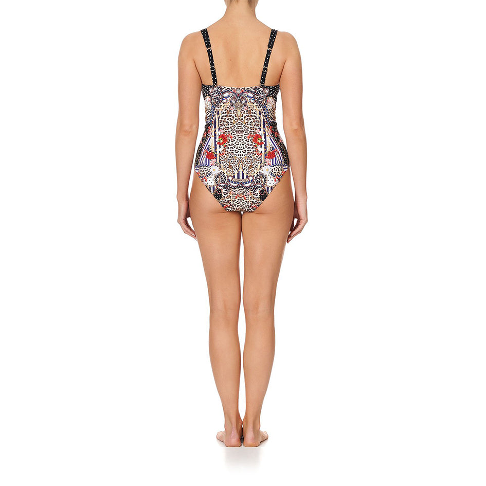 Dear Brigitte V Wire Bra Style One Piece