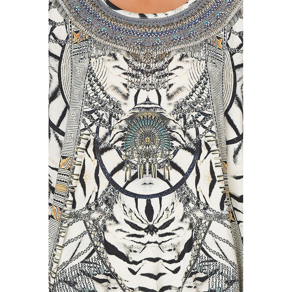 Wild Belle Loose Fit Round Neck Tee