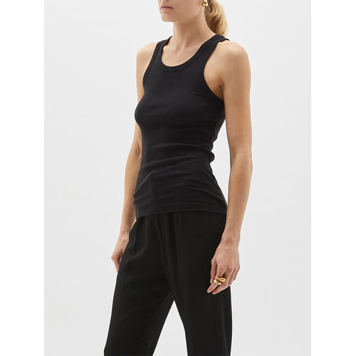 Superfine Rib Athletic Tank
