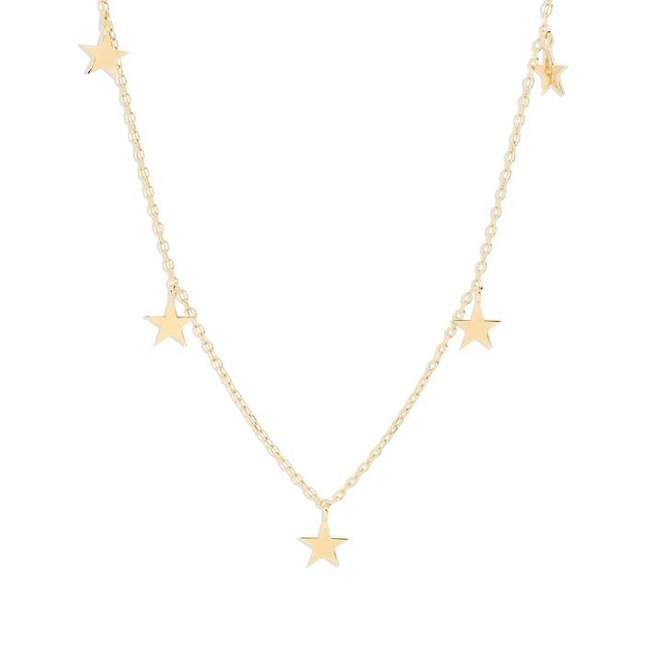 Gold Star Bright Anklet
