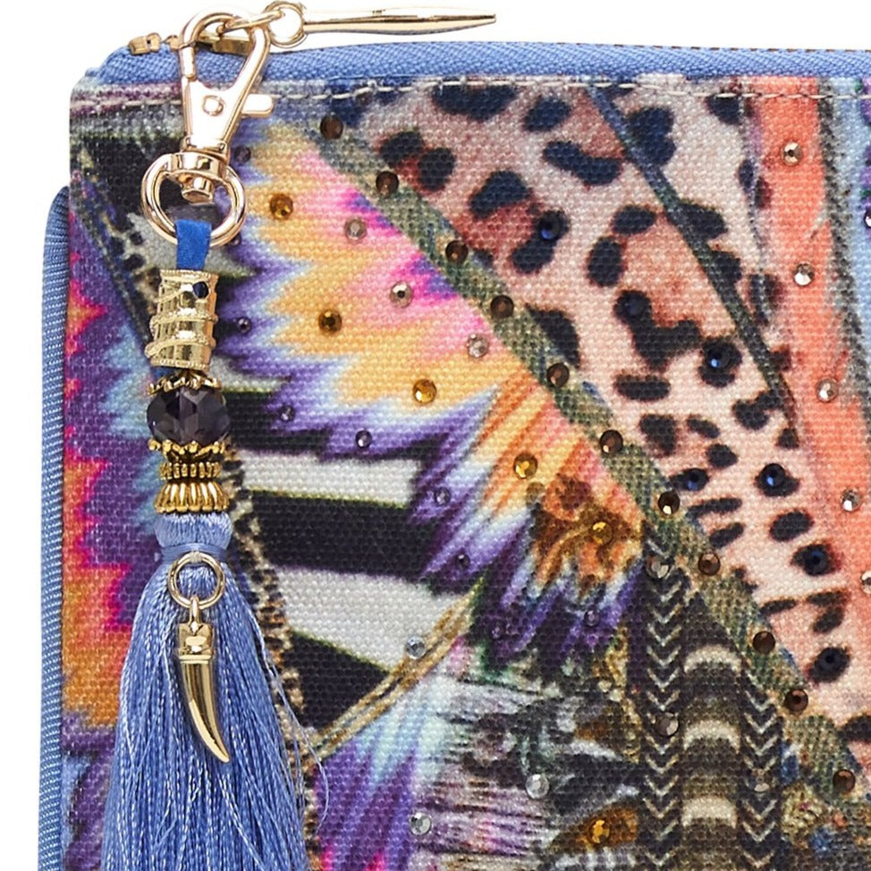 Love On The Wing Small Canvas Clutch
