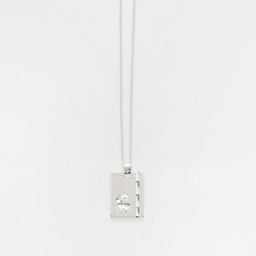 Star Sign Pendant Silver