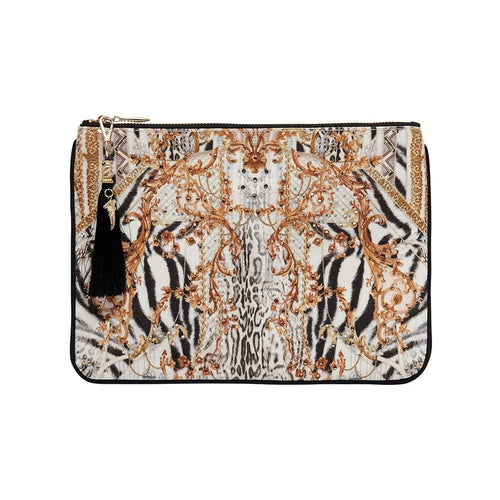 Gates of Glory Small Canvas Clutch