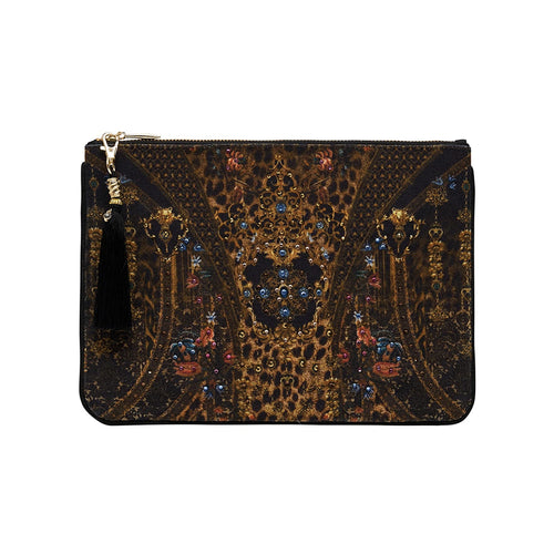 Abingdon Palace Small Canvas Clutch