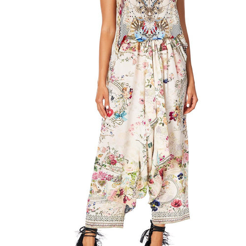 Jardin Postcards Harem Pants