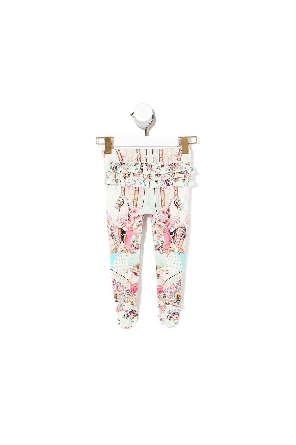 Carousel Mademoiselle Babies Footed Leggings