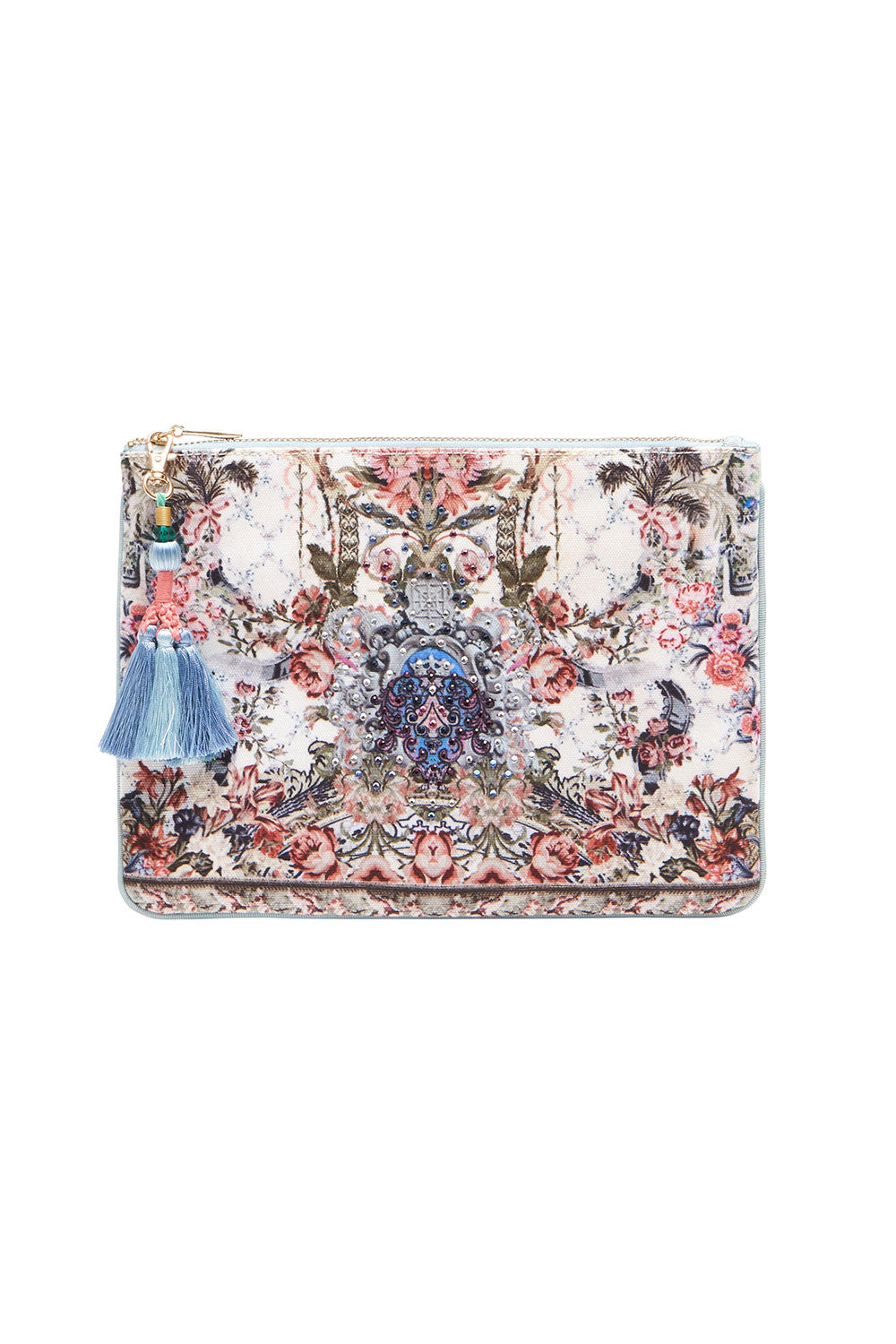 fbfe535f98efe Southern Belle Small Canvas Clutch – est.90