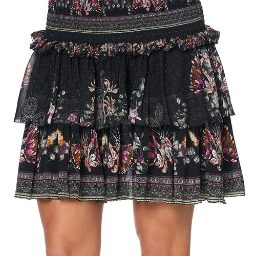 Restless Nights Layered Frill Skirt