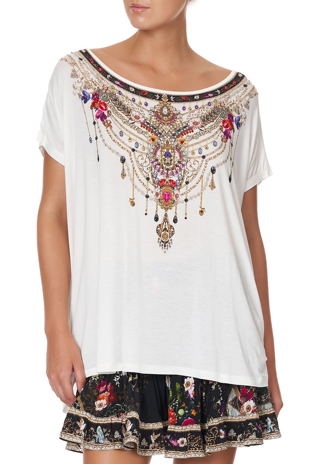 Fairy Godmother Loose Fit Round Neck Tee