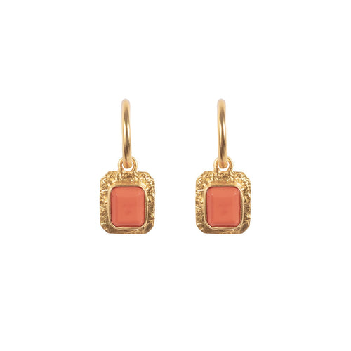 Breeze Coral Earrings