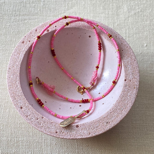 Eté Rose Necklace