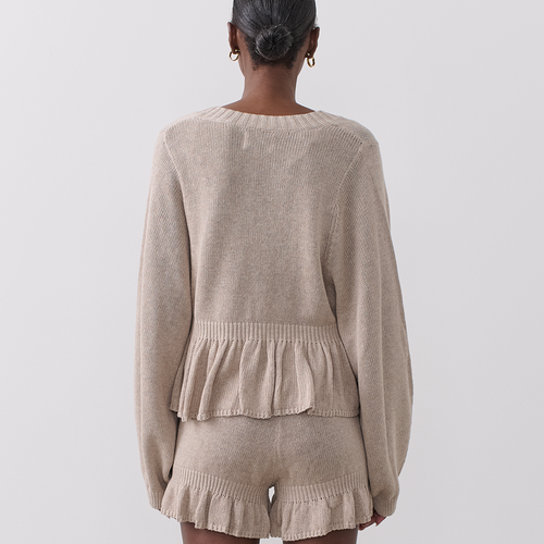 Emily Linen Cotton Knit Short