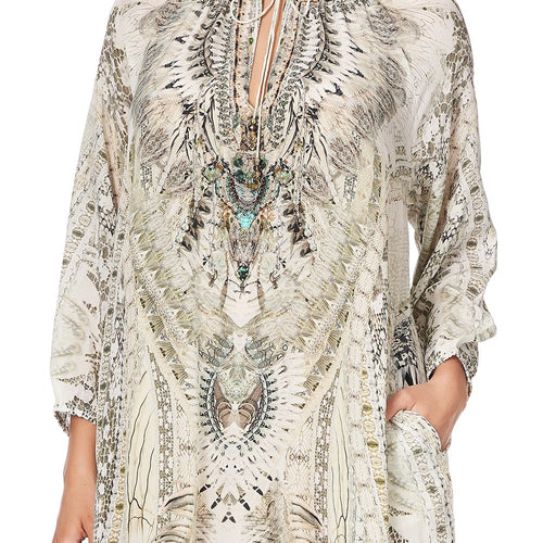 Daintree Dreaming Raglan Sleeve Tunic Dress