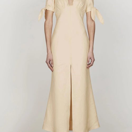 Eames Tie Sleeve Midi Dress