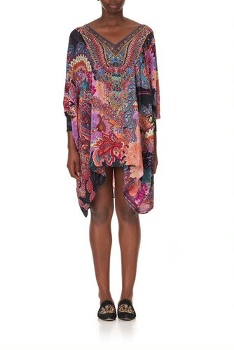 Swinging Sixties Short Kaftan with Cuff