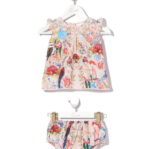 Little Lamington Babies Top and Bloomer Set