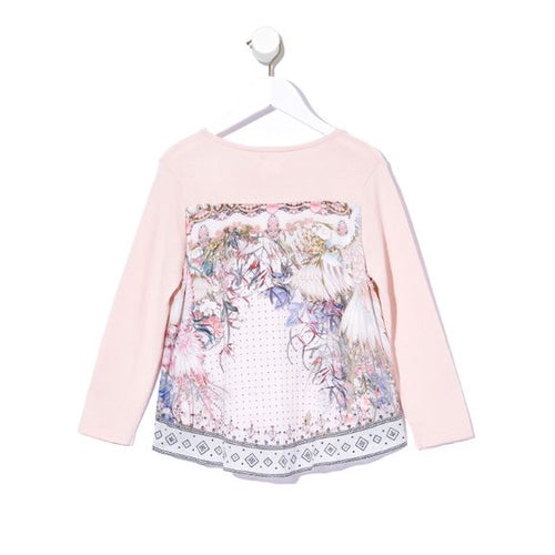 Kindred Skies Kids Print Back Jumper