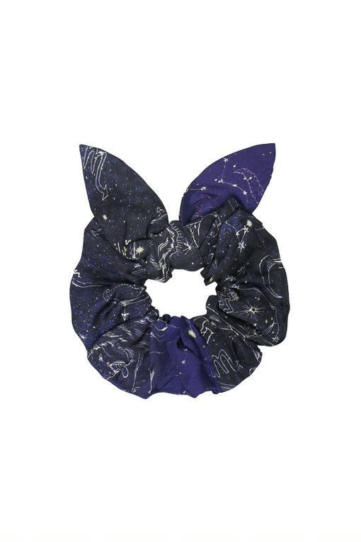 Cosmic Forces Scrunchie with Tie