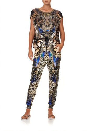 Dragon Lady Jersey Drop Crotch Pant