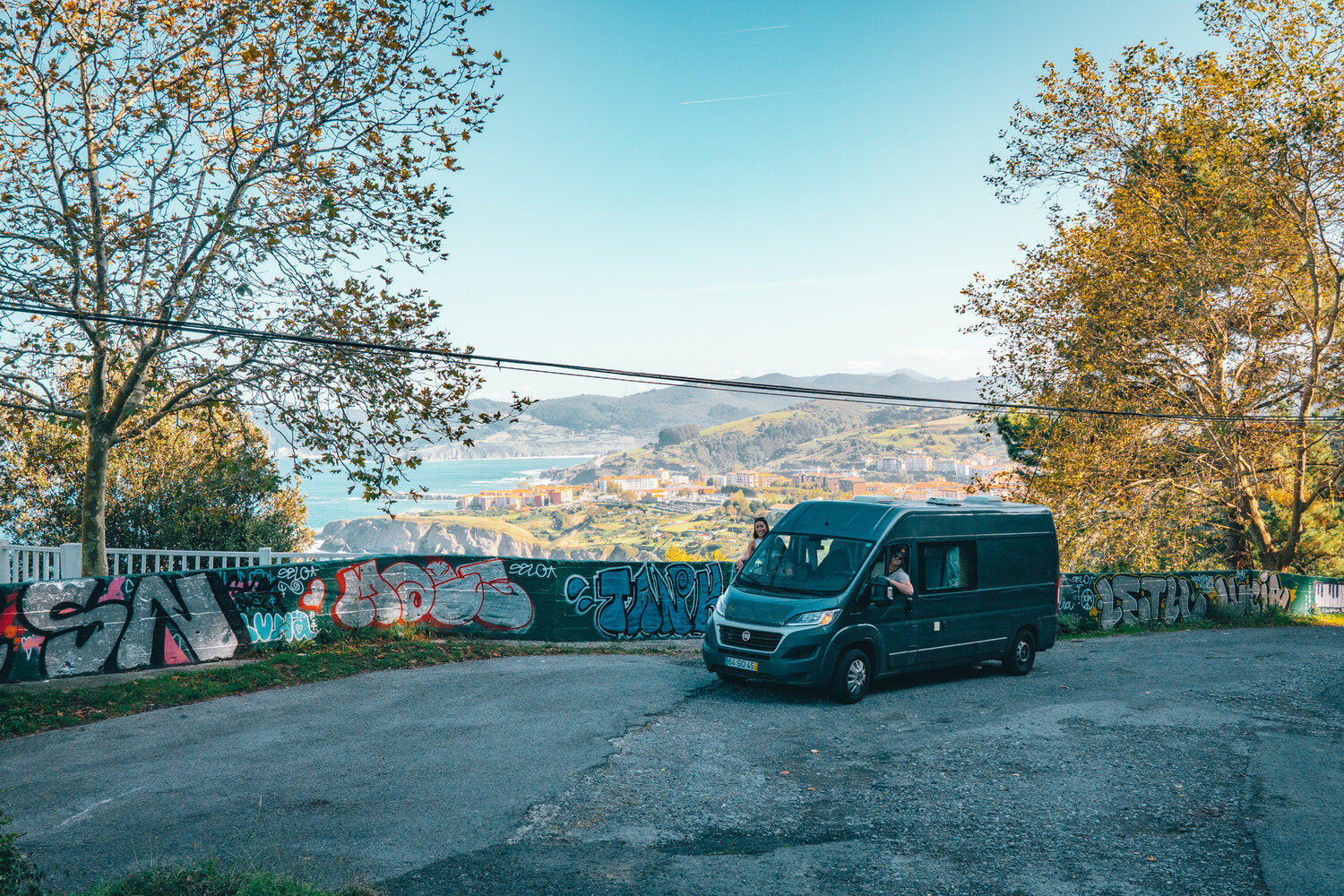 Camper Van Travel Europe