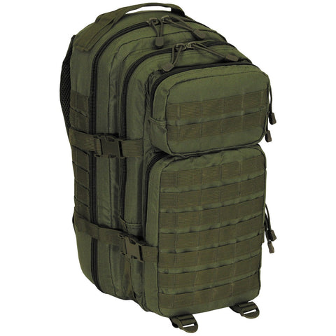 "US Rucksack, Assault I, ""Basic"", olive 30 Liter"