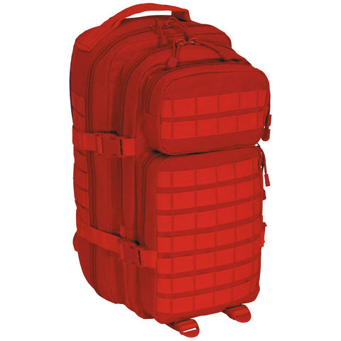 "US Rucksack, Assault I, ""Basic"", rot 30 Liter"