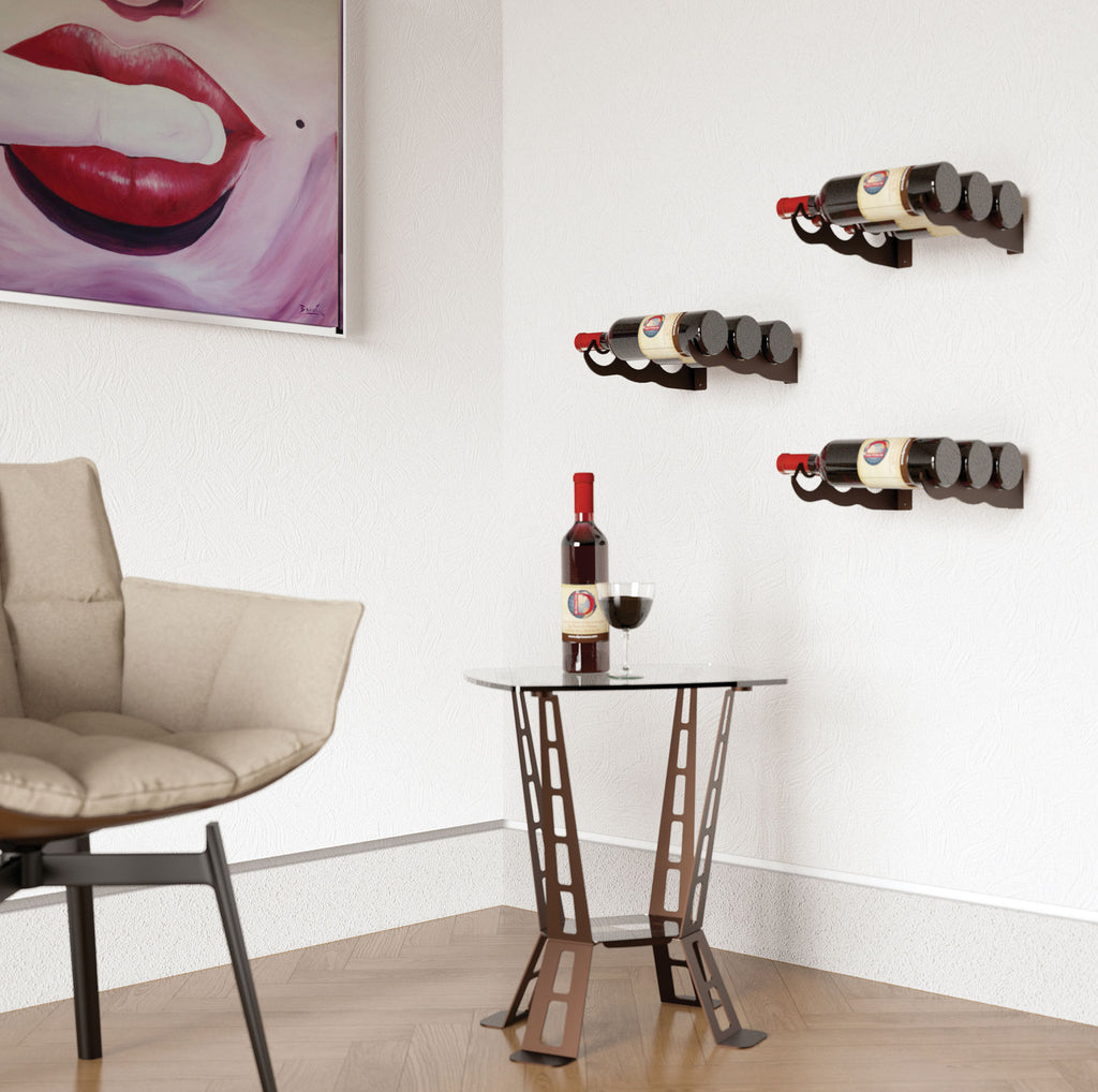 SINGLE – 3 BOTTLE RACK